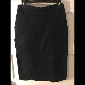 NANETTE LEPORE Pencil Skirt Ruched Size 10